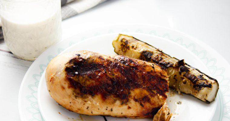 3 Ingredient Keto Grilled Chicken
