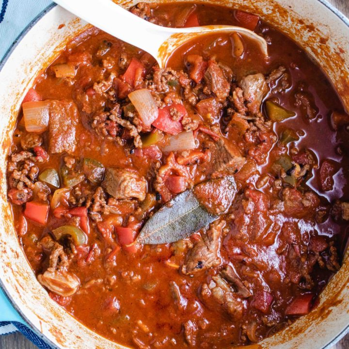 Low Carb Steak Chili