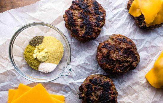 The Best Homemade Burger and Seasoning