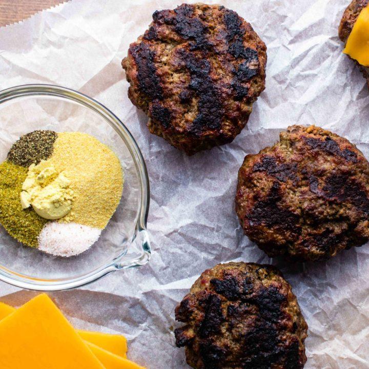 The Best Homemade Hamburger (keto, dairy free, gluten free)