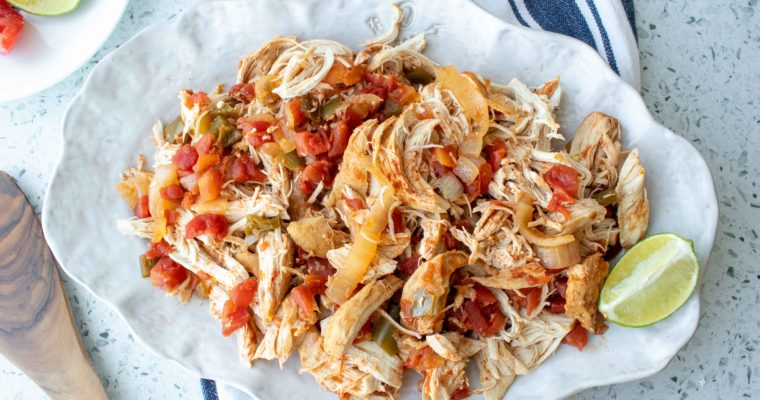 Mexican Shredded Chicken (Instant Pot + Crock Pot)