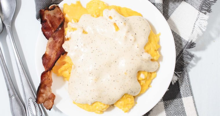 Low Carb White Gravy