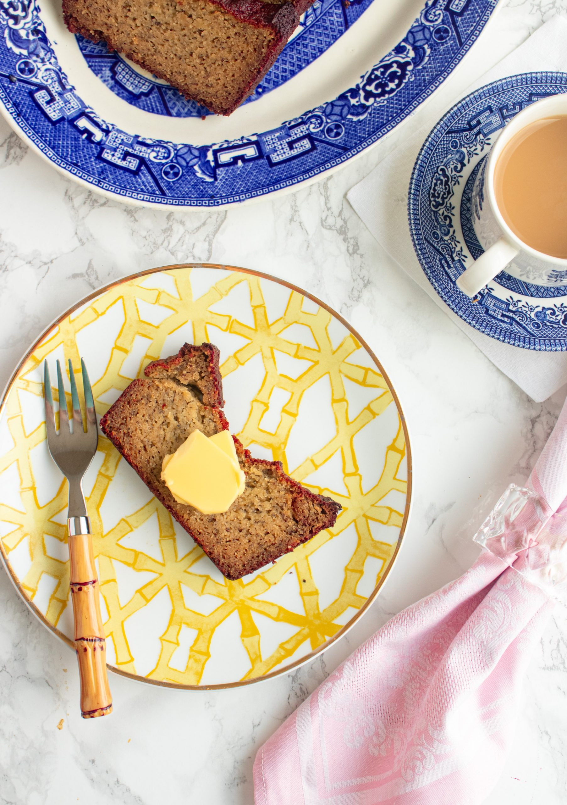 Gluten free banana bread made with real bananas is clean, healthy, and tastes just like the your odl favorite recipe minus the carbs and sugar.