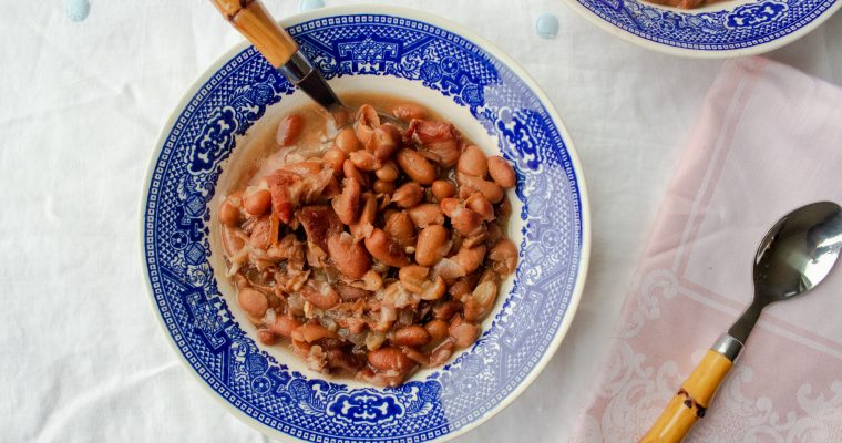 Southern Pinto Beans with Ham- Instant Pot