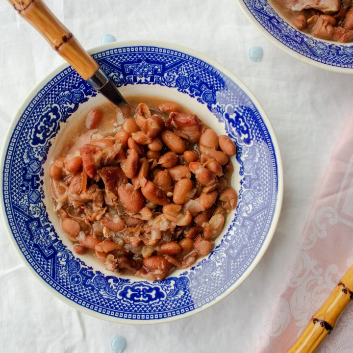 Southern Pinto Beans with Ham