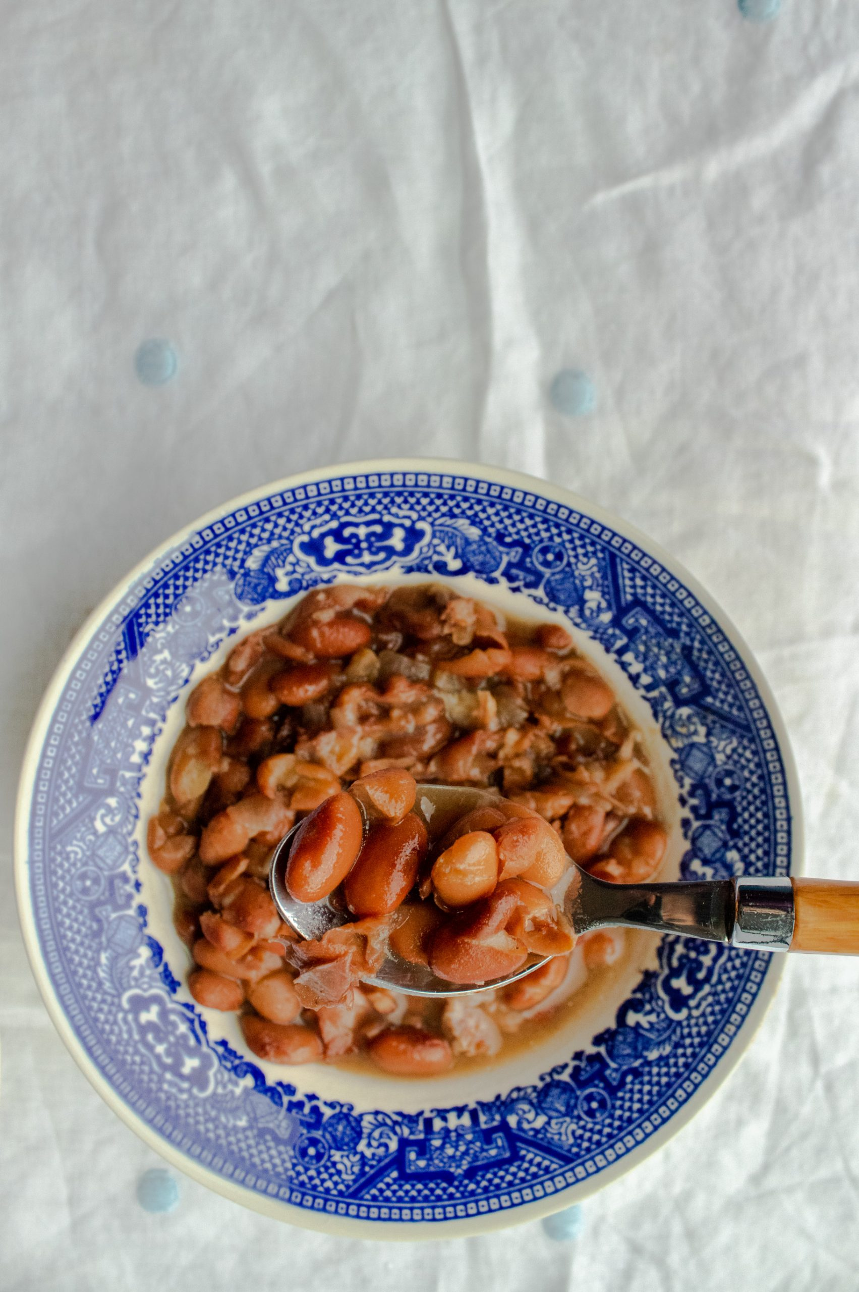 Soup beans, or southern pinto beans, are the perfect way to use up a leftover hamhock. This blog post will walk you through making the best ham and bean soup using your Instant Pot. If you've never cooked dry beans before, fear not, this post is just for you!