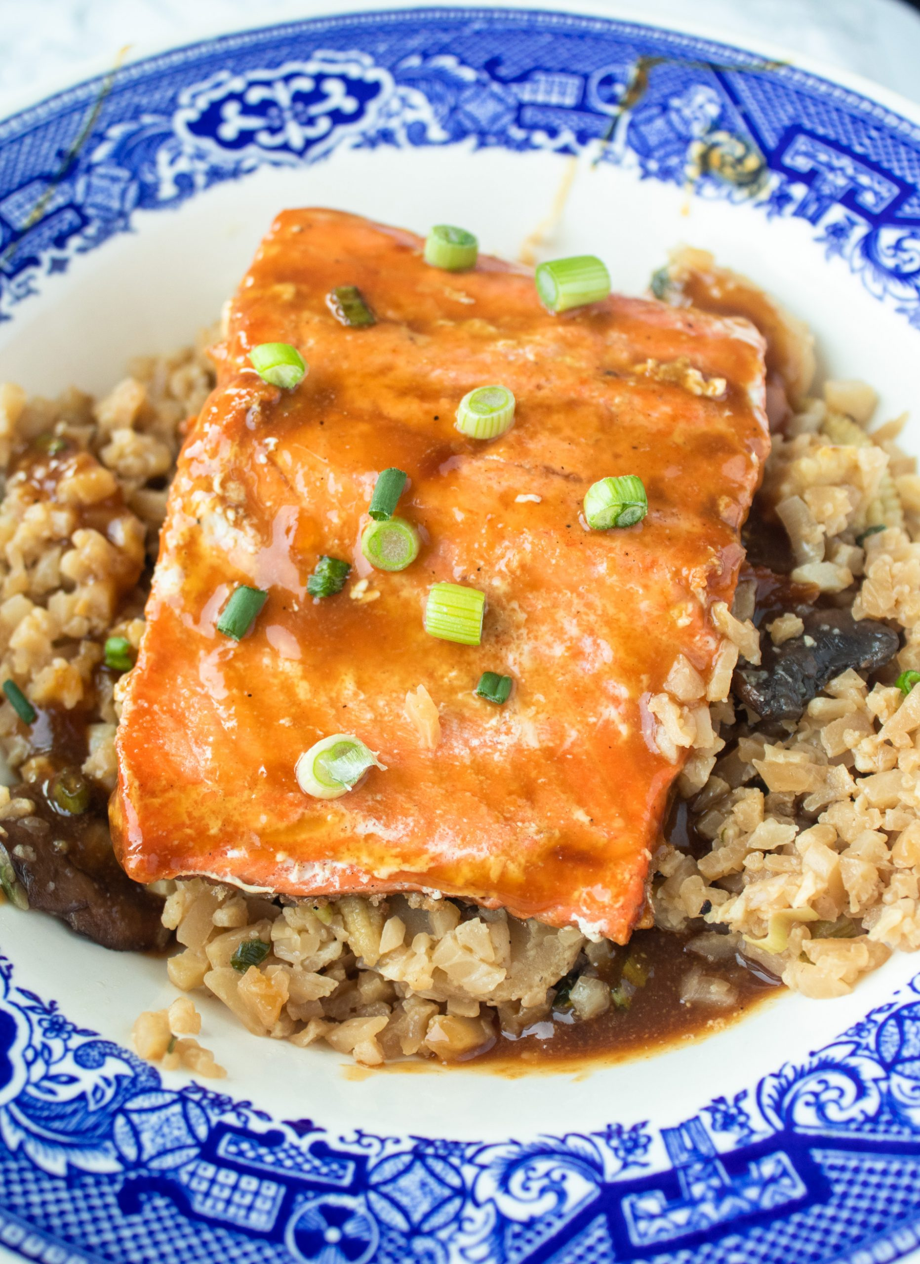 Teriyaki salmon is a one pot keto salmon recipe that is ready in just 15 minutes! Adaptable for paleo and gluten free lifestyles.