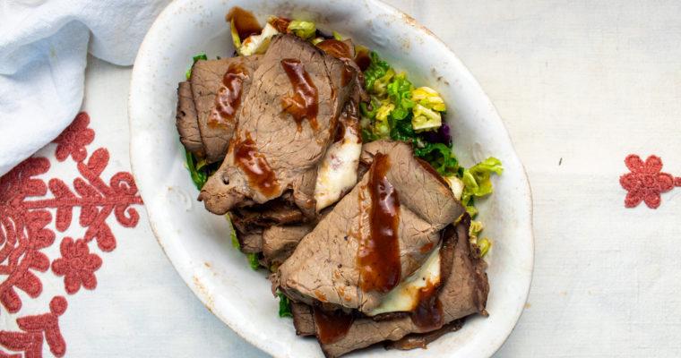 Roast Beef Keto Wraps