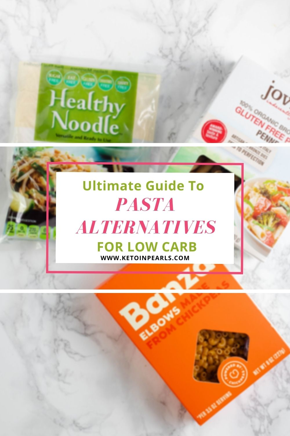This guide will show you some of the most popular pasta alternatives for low carb noodles, keto noodles, and gluten free noodles as well as highlight 14 recipes using them!