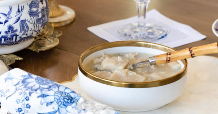 Southern Chicken and Dumplings (The Best!)