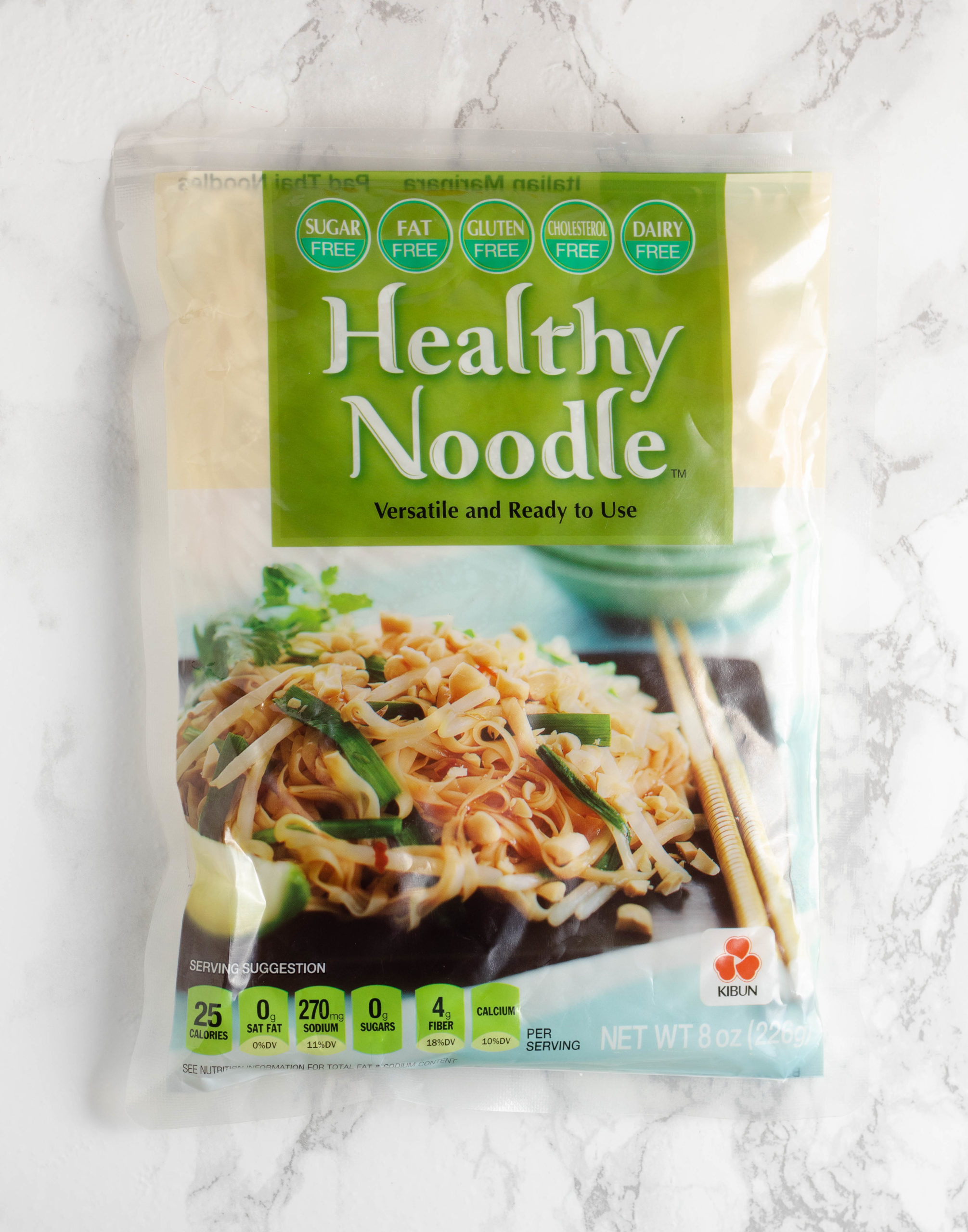 Shirakati (konjac) noodles are great for all diets because they are zero calorie, zero carb, and gluten free.