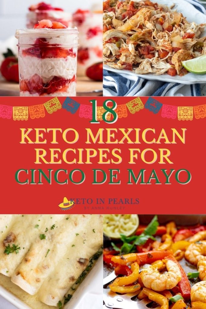 Get your maracas ready because this post is all about keto Mexican food for celebrating Cinco de Mayo!