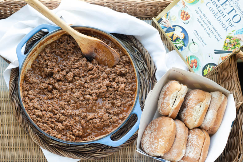 Healthy and homemade sloppy joes are an easy weeknight dinner that checks all of the boxes. This sloppy Joe recipe is keto, paleo, dairy free, and gluten free.